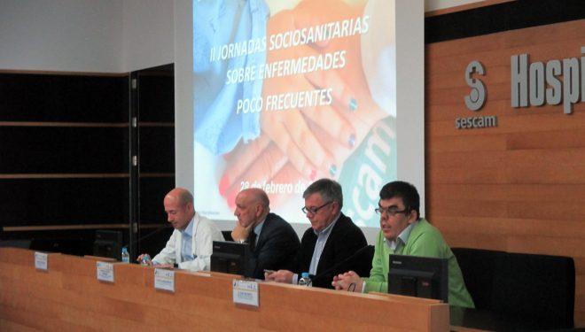 Inauguradas las II Jornadas Sociosanitarias sobre Enfermedades poco frecuentes