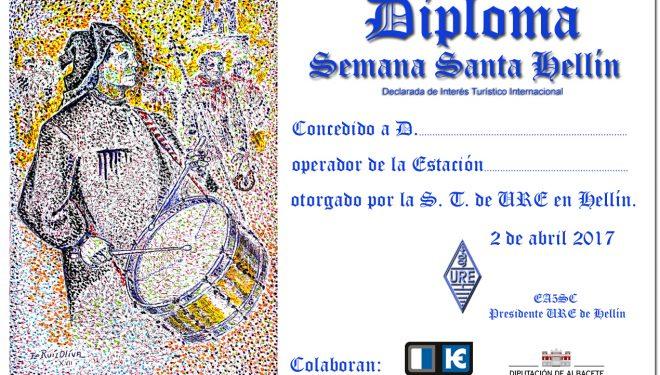 Los radioaficionados de Hellín promocionan la Semana Santa