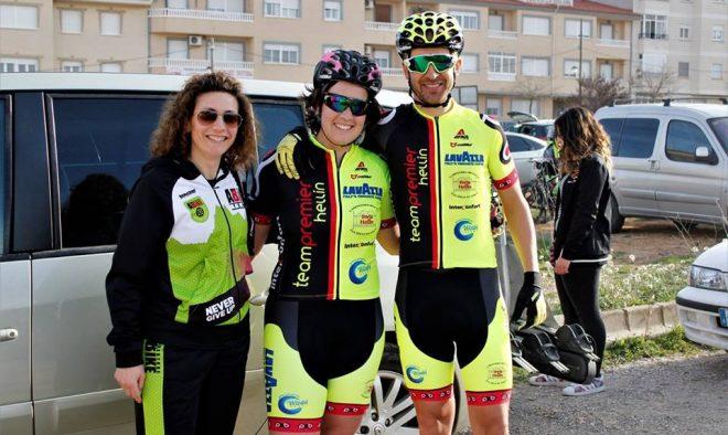 César Ruiz, Nieves Andújar y Eva Coy / FOTO Antonio Debón