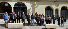 Se guarda un minuto de silencio por el asesinato ocurrido en Campo de Criptana
