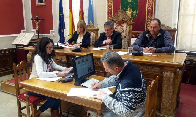 Pleno municipal.