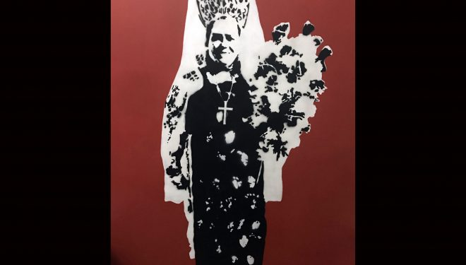 "El graffiti de ""La Trincha"" en peligro de desaparecer"