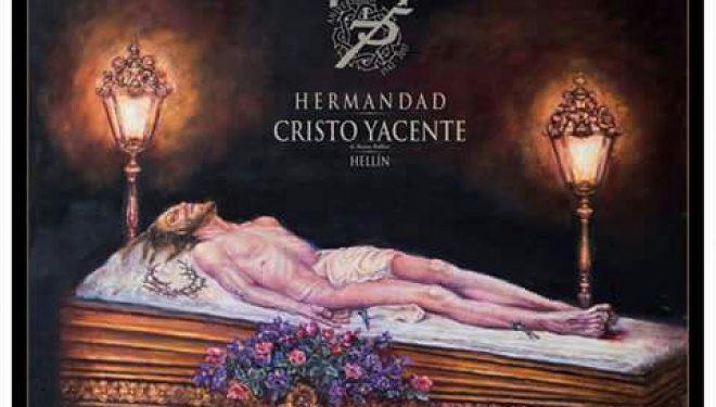 Conmemoración del 75 aniversario de la llegada a Hellín de la imagen del Cristo Yacente