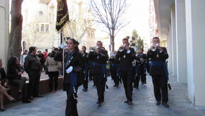 Actuación de la Banda de Cornetas y Tambores de Nuestra Señora del Dolor