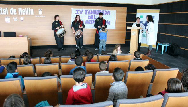 El Aula Hospitalaria de la GAI de Hellín celebra su IV Tamborada para decenas de niños