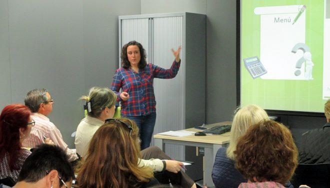 Charla-taller dentro de la campaña de prevención del Cáncer Colorrectal organizada por aecc