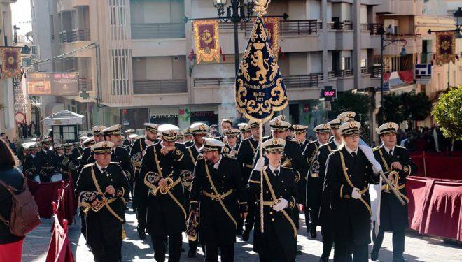 La banda de cornetas y tambores Juventud Musical de Hellín se negó a desfilar el domingo de Resurrección