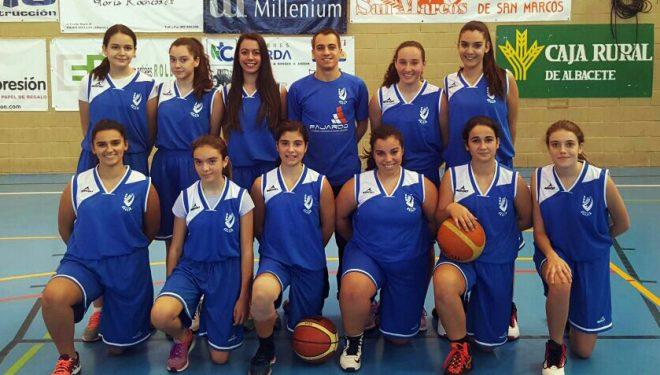 El equipo Cadete femenino del AD Baloncesto Hellín consigue el tercer puesto de la Copa Presidente