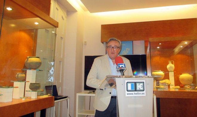 Javier López Precioso, director del Museo / EFDH.