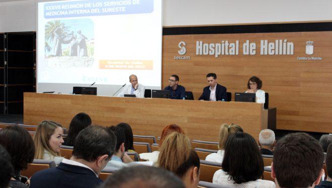 Se ha celebrado la XXXVII Reunión de los Servicios de Medicina Interna del Sureste