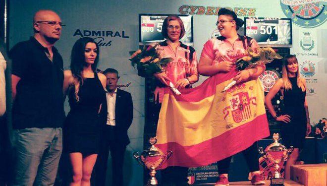 Una medalla de plata y dos de bronce para Almudena Fajardo