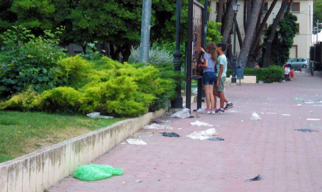 Aspecto del Parque Municipal / EFDH.