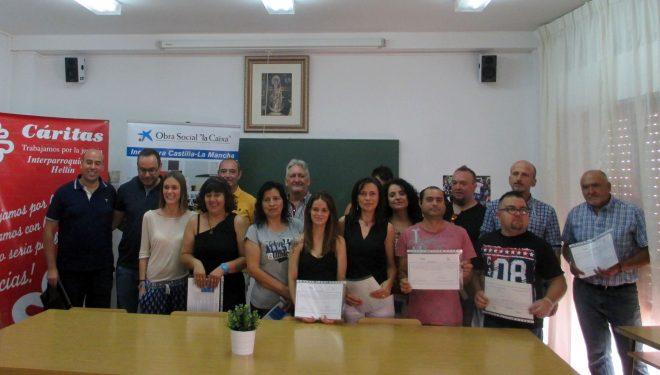 """Clausura y entrega de diplomas del curso de """"Auxiliares de Viverismo y Jardinería"""""""