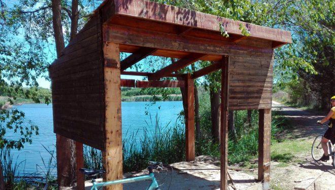 El concejal de Medio Ambiente denuncia los destrozos ocasionados en la cabaña de la Laguna de los Patos