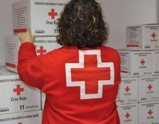 Cruz Roja Española en Hellín ha distribuido este mes de marzo, 9.538 kilos de alimentos