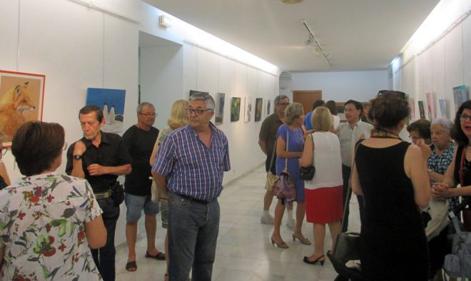 exposición del Taller de Dibujo y Pintura de la UP / EFDH.
