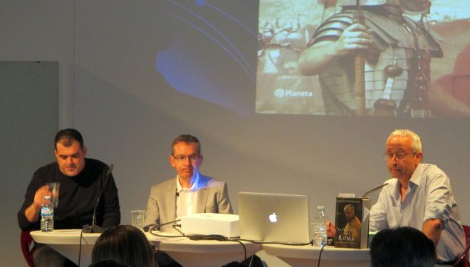 Santiago Posteguillo dio realce a las Jornadas Literarias