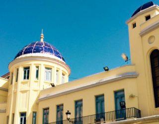 Será reparada la cúpula azul del edificio de la Casa Consistorial