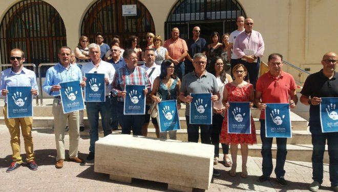 Concentración silenciosa en el aniversario de la muerte de Miguel Ángel Blanco