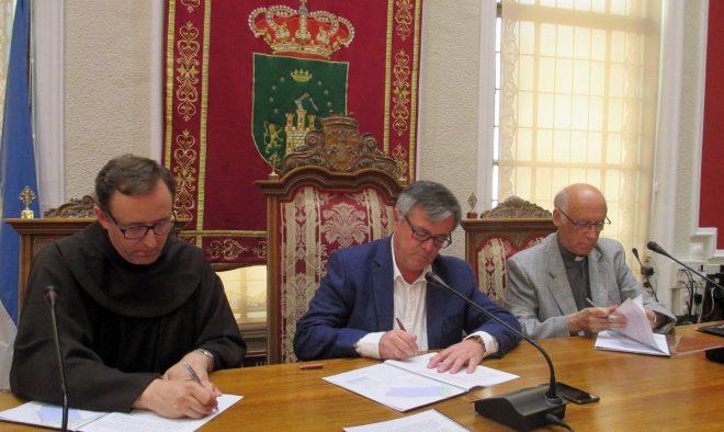 Firma del convenio / EFDH.