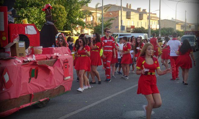 Isso 2016, CABALGATA DE APERTURA DE FIESTAS