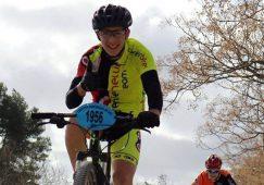 Regresó de Estados Unidos el joven ciclista Iván Ortuño