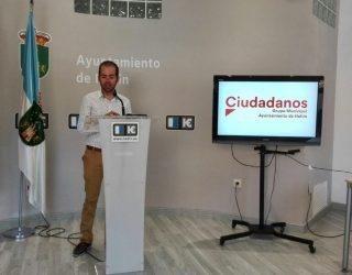 Ciudadanos pedirá al Ayuntamiento que el rocódromo del pabellón Nº 2 lleve el nombre de Armando García