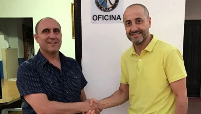 Pedro Sáez, nuevo entrenador del Hellín C.F