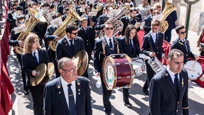 Concierto de la Unión Musical Santa Cecilia de Hellín en Conil (Cádiz)