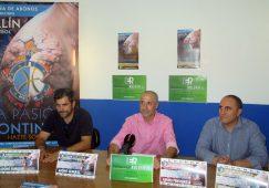 Presentación de Pedro Sáez como nuevo entrenador del Hellín C.F