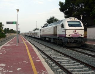 El tren que se aleja