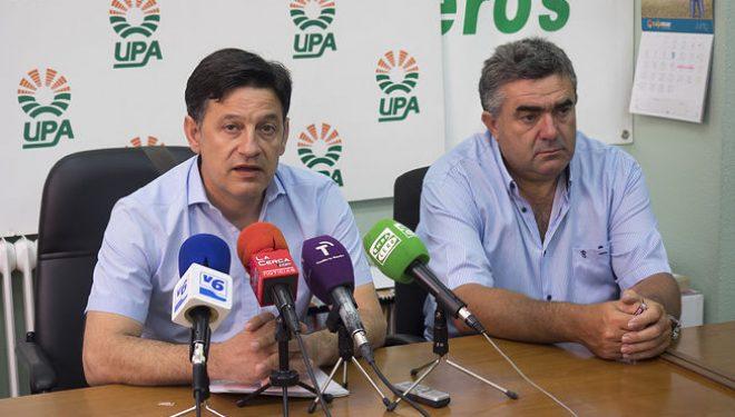 La Unión de Pequeños Agricultores alerta por la situación de sequía que sufren los campos de la Comarca de Hellín