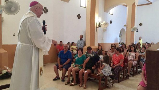 Reapertura de la Iglesia de la pedanía de Las Minas