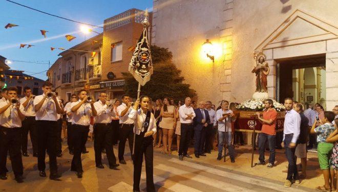 Finalizaron las fiestas de Agramón con la procesión en honor a San Joaquín