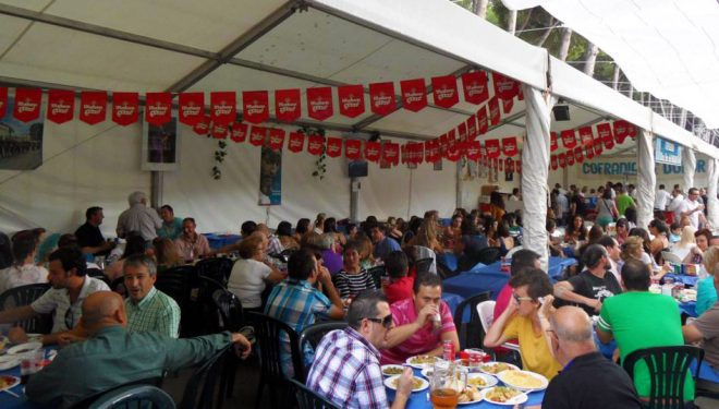 Las cofradías y hermandades acaparan las parcelas para instalar las casetas de comidas de la próxima Feria
