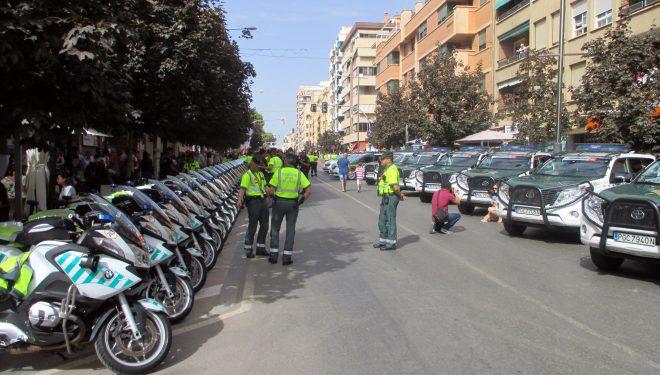 La Guardia Civil agradece las muestras de cariño recibidas de los ciudadanos de Hellín