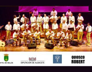 Actuación de la Trova del Llano en el Teatro Victoria