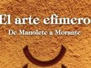 """""""El arte efímero: De Manolete a Morante"""", nuevo libro de Mariano Tomás Benítez"""