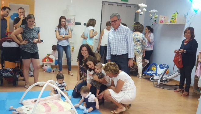 Inaugurada el aula para bebés en las Escuelas infantiles del barrio de El Calvario