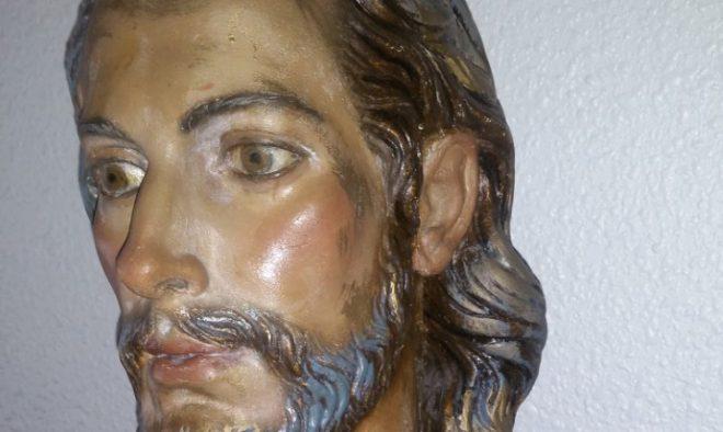 Busto de Cristo obra de Zamorano.