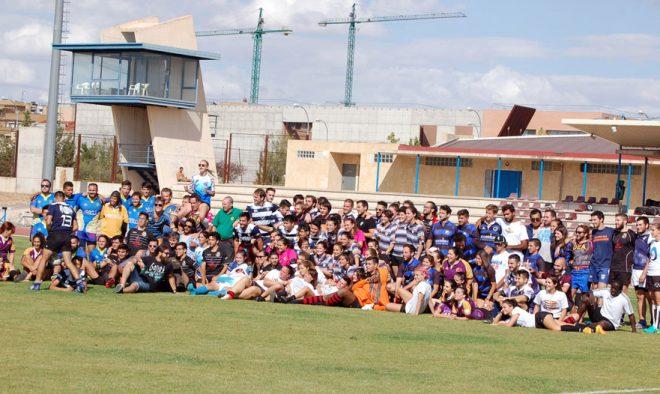 Torneo de rugby en Albacete.
