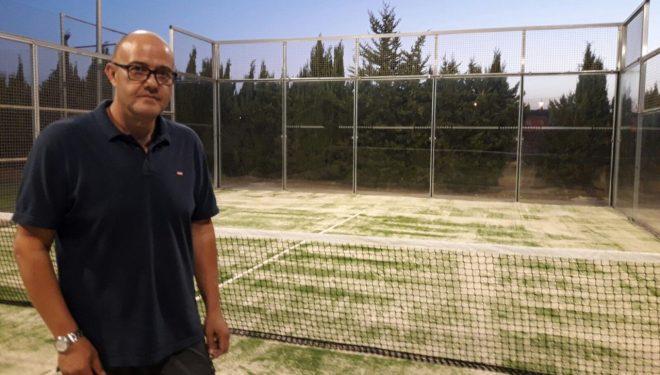 Se remodela la pista de pádel del Complejo Polideportivo Josico en Isso