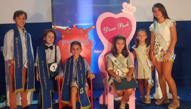 Claudia Sánchez y Mario Fernández Hellíneros de Honor Infantil de la Feria 2017