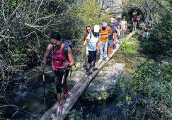 Preciosa y entretenida ruta por Nerpio en la XXVI  Ruta Provincial de senderismo organizada por la Diputación