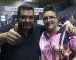 Almudena Fajardo campeona de España de dardos electrónicos