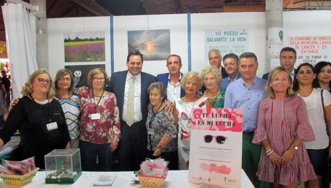 Visita del presidente provincial del Partido Popular, Francisco Núñez