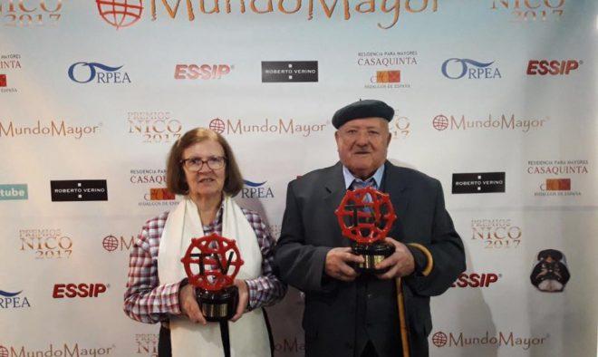 Antonio Ruiz e Isabel Ríos.