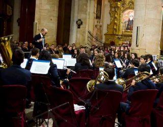 La Unión Musical Santa Cecilia de Hellín realiza este sábado su tradicional concierto de Navidad