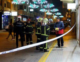 Alarma por un escape de gas en la calle Doctor Cerdá Martí