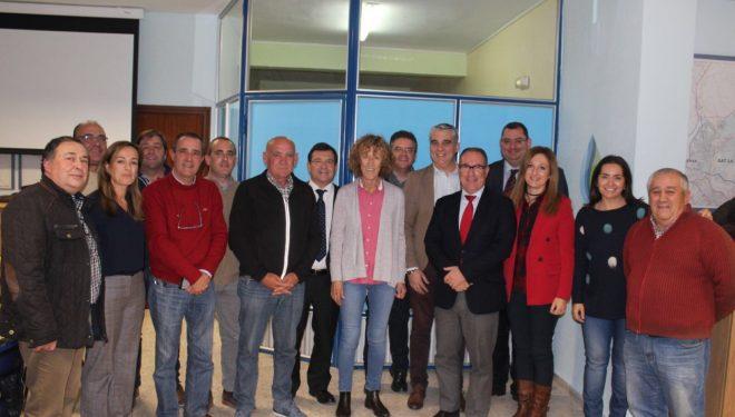 La delegación de diputados nacionales del PP del área de Agricultura se reune con la Plataforma de Regantes y Usuarios de la Cabecera del Segura